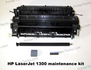 HP Laserjet 1300 maintenance kit parts