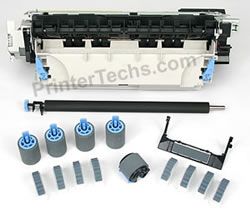 HP LaserJet 4100 maintenance kit parts