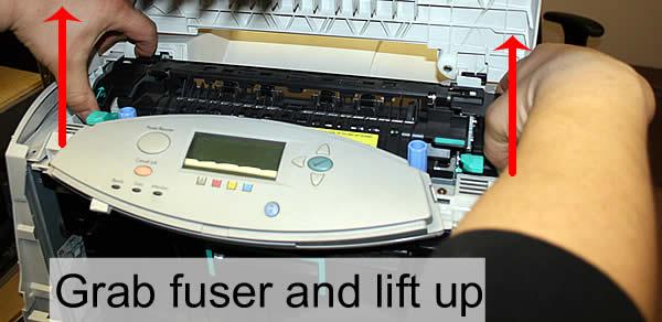 hp color laserjet 4650 4610 fuser installation instructions rh printertechs com hp 4650 manual for ink replacement hp 4650 manual for ink replacement
