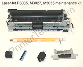 HP LaserJet P3005 series maintenance kit parts