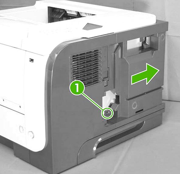 replacing the laser scanner assembly hp laserjet p3015. Black Bedroom Furniture Sets. Home Design Ideas
