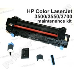 q3655a hp color laserjet 3500 3550 3700 maintenance kit with fuser rh printertechs com hp color laserjet 3550 printer service manual HP Color LaserJet CP2025