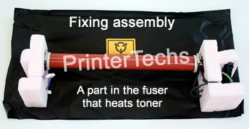 HP Laserjet 2820, 2840 fixing assembly included in fuser