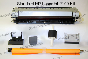 HP Laserjet 2100 maintenance kit parts