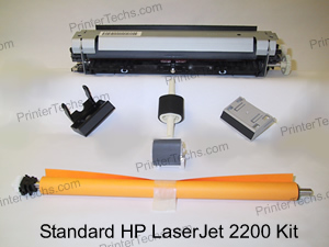 HP Laserjet 2200 maintenance kit parts