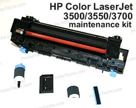 HP Color LaserJet 3500 maintenance kit parts