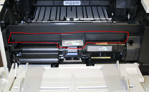 HP LaserJet 4100 Tray 1 pickup roller installation ...