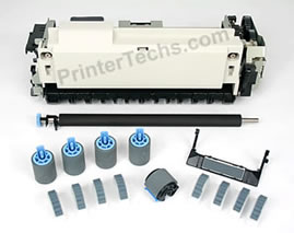 HP LaserJet 4000 maintenance kit parts