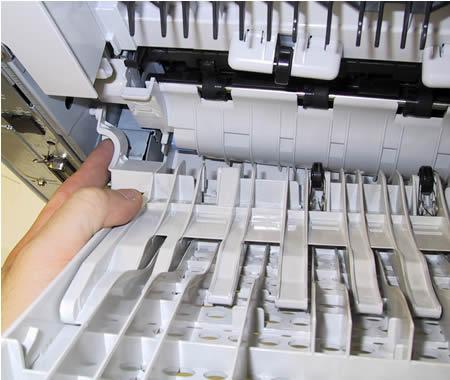 HP LaserJet 4240 , 4250 fuser installation instructions