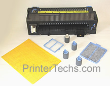 HP Color LaserJet 4500 maintenance kit parts