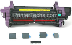 HP Color LaserJet CP4005 maintenance kit parts