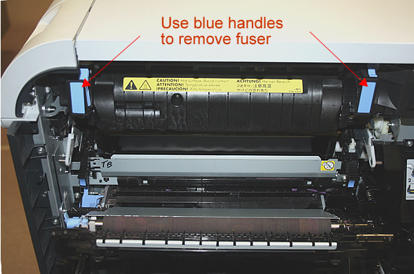 Hp Color Laserjet Cp3525 Fuser Installation Instructions