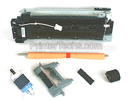 HP Laserjet P3015 maintenance kit parts