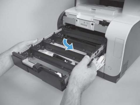 Replacing The Transfer Belt Itb Transfer Kit Hp Color