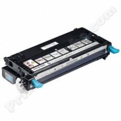 Dell 310-8094 310-8095 Compatible Cyan High Capacity Toner Cartridge, Fits Color Laser 3110 3110cn 3115 3115cn