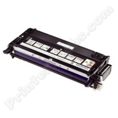 Dell 330-1197 330-1198 Compatible Black High Capacity Toner Cartridge, Fits Color Laser 3130, 3130cn