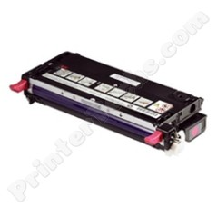 Dell 330-1195 330-1200 Compatible Magenta High Capacity Toner Cartridge, Fits Color Laser 3130, 3130cn