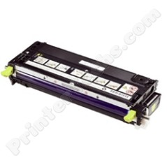 Dell 330-1196 330-1204 Compatible Yellow High Capacity Toner Cartridge, Fits Color Laser 3130, 3130cn