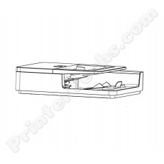 CF367-67920 ADF Auto Document Feeder Assembly HP LaserJet M830 M880 series