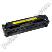 CB542A HP Color LaserJet CP1215 , CP1515, CP1518 , CM1312 compatible toner cartridge