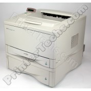 HP LaserJet 5000 with optional cassette and JetDirect card