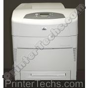HP Color LaserJet 5500dn with single paper tray