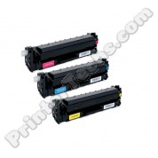 CF251AM (3-pack Standard Yield Cyan Yellow Magenta) HP Color LaserJet M452 M477 compatible toner cartridges
